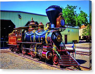 Locomotive Glenbrook Canvas Print
