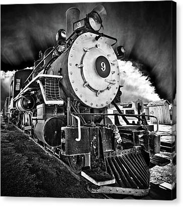 Locomotive Nine Canvas Print