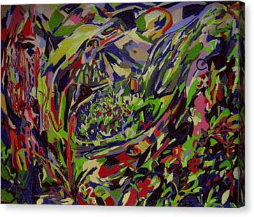 Lodge Of Bliss  Canvas Print by Tadeush Zhakhovskyy