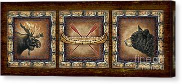 Canvas Print - Lodge Panel by JQ Licensing
