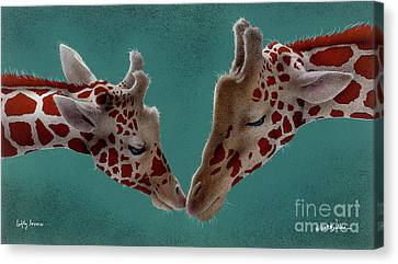 Lofty Lovers... Canvas Print