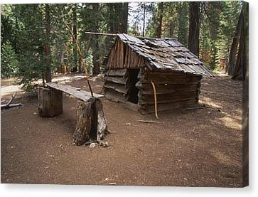 Log Cabin Canvas Print by Soli Deo Gloria Wilderness And Wildlife Photography
