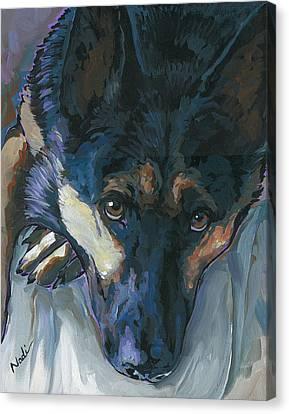 Logan Canvas Print by Nadi Spencer