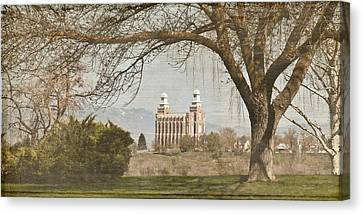 Logan Temple  Canvas Print
