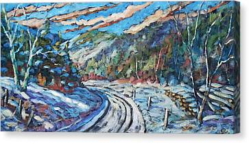 Loggers Road  Canvas Print by Richard T Pranke
