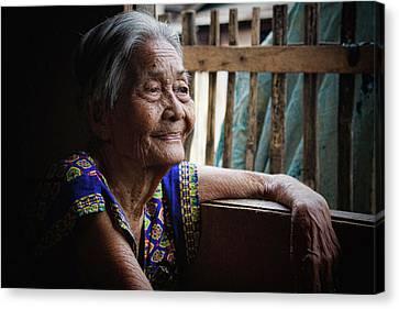 Filipina Canvas Print - Lola by James BO  Insogna