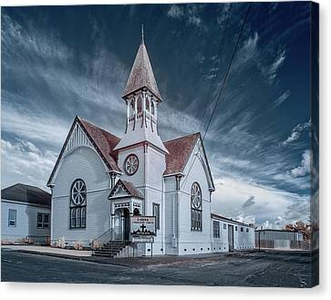 Canvas Print featuring the photograph Loleta Church by Greg Nyquist