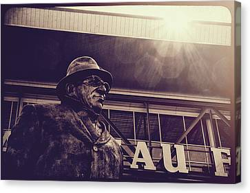 Lombardi - Shadow Of Greatness Canvas Print by Joel Witmeyer