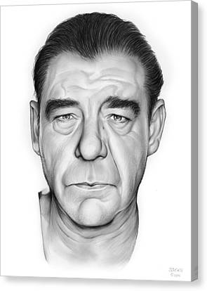 Lon Chaney Jr. Canvas Print by Greg Joens