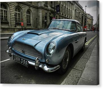 Motors Canvas Print - London 043 by Lance Vaughn
