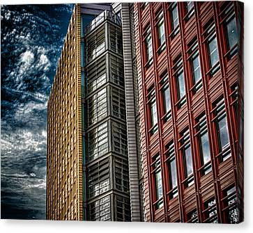 London Architecture Canvas Print by Martin Newman