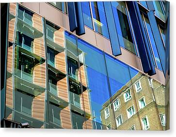 London Bankside Architecture 3 Canvas Print