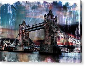 Tower Bridge Canvas Print by Gull G