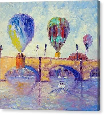 London Bridge Canvas Print by Terry  Chacon
