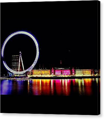 #london #british #photooftheday #bigben Canvas Print by Ozan Goren