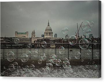London Bubbles Canvas Print