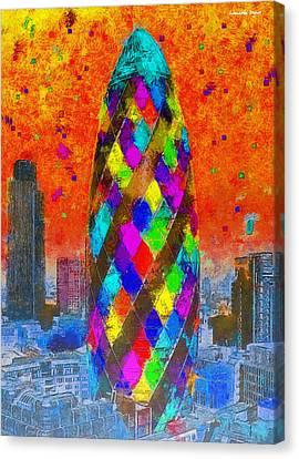 London Bullet 2 - Da Canvas Print by Leonardo Digenio