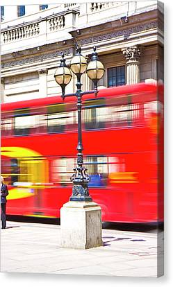 London Calling Canvas Print by Betsy Knapp