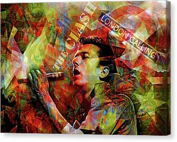 London Calling Canvas Print by Mal Bray