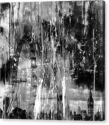 London City Canvas Print by Gull G
