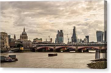 London Cityscape Canvas Print