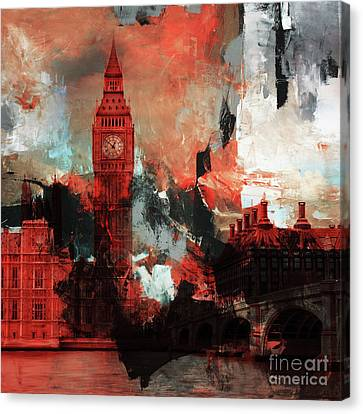 Big Ben London  Canvas Print by Gull G