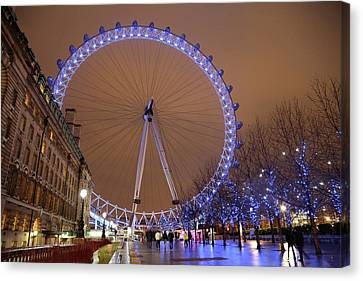 Canvas Print featuring the photograph Big Wheel by David Chandler