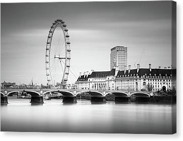 London Eye Canvas Print by Ivo Kerssemakers