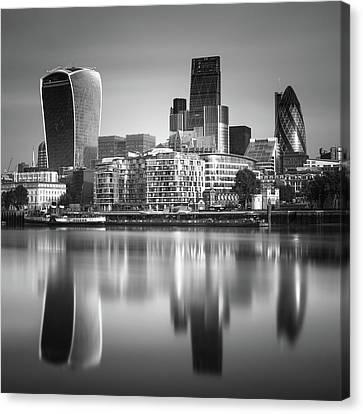 London Financial District Canvas Print