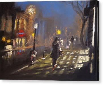 London Fog 2 Canvas Print by Paul Mitchell
