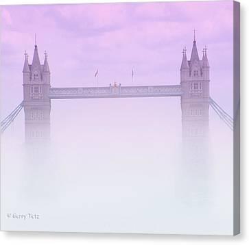 London Fog Canvas Print