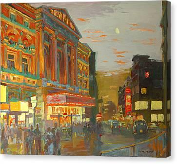 London Night  Canvas Print by William Ireland
