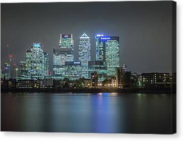 London Skyline Canvas Print by Ian Hufton