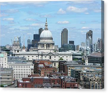 London Skyscrape - St. Paul's Canvas Print