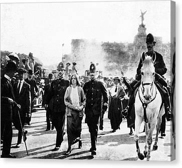 London: Suffragettes, 1914 Canvas Print by Granger