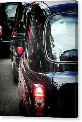 London Taxis  Canvas Print