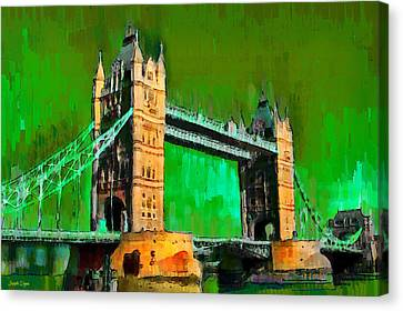 London Tower Bridge 11 - Pa Canvas Print