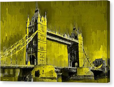 London Tower Bridge 16 - Pa Canvas Print by Leonardo Digenio
