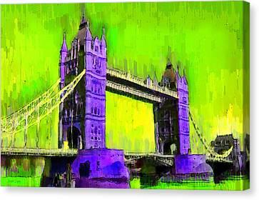 London Tower Bridge 4 - Da Canvas Print