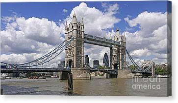London Towerbridge Canvas Print