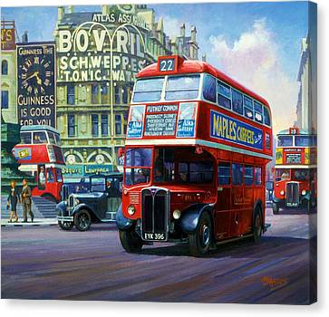 London Transport Rt1. Canvas Print