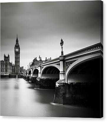 Westminster Abbey Canvas Print - London Westminster by Nina Papiorek