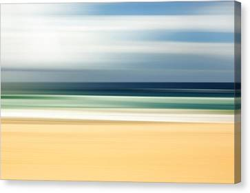 Lone Beach Canvas Print by Az Jackson