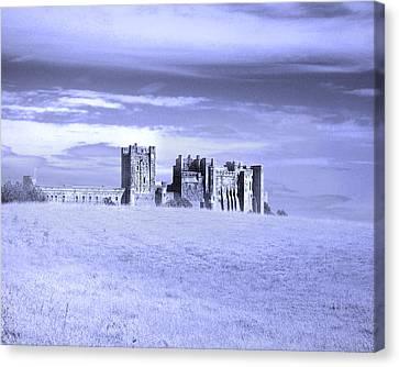 Briton Canvas Print - Lone Fortress by Vicki Lea Eggen