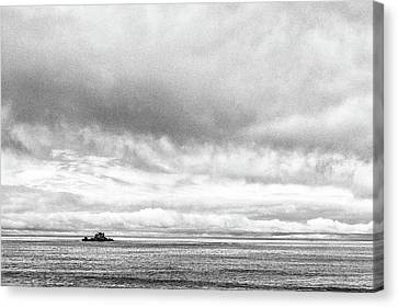 Canvas Print featuring the photograph Lone Island In The Pacific by Jingjits Photography
