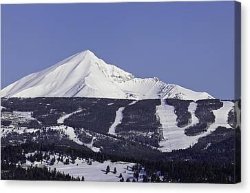 Lone Peak Southern Exposure Canvas Print