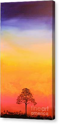 Lone Pine Canvas Print by Michele Hollister - for Nancy Asbell