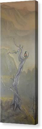 Lone Sentinel Canvas Print by Dan Bozich