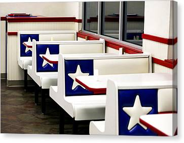 Lone Star Dairy Queen Canvas Print by Marilyn Hunt