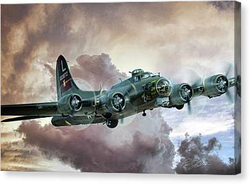 Lone Star Fortress Canvas Print